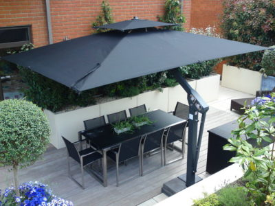 large outdoor cantilever umbrella - King Collection